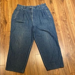 Vintage high waisted mom jeans size 16